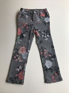 Fab & Funky Gap Kids Floral Denim Jeans Jeggings 4 Years New Without Tags