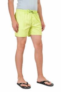 "Hugo Boss ""Carp"" Lime Swim Board Shorts Size US M IT 50"