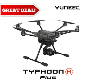 New YUNEEC Typhoon H+ Plus Hexacopter Drone w/ C23 4K Camera & Intel RealSense