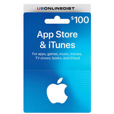 Apple - $100 App Store & iTunes Gift Card - Physical Delivery