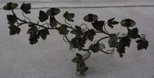 Wonderful Antique Metal Sprawling Grape Vine Candelabra Centerpiece -BEAUTIFUL