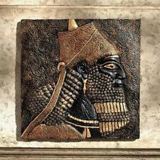 9th Century B.C. Assyrian King Ashurnasirpal II Nimrud Wall Sculpture