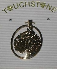 Touchstone Jewelry, A Pendant for Bouvier Lovers