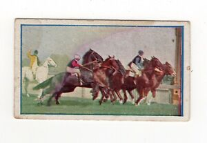 Sniders Horse Racing Scenes 1911. The Derby, Flemington
