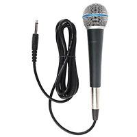 Wired Karaoke Mikrofon KTV Singen Rede Hand Mic für Lautsprecher Bühne