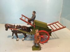 BRITAINS LEAD FARMERS CART VERY NICE EXAMPLE
