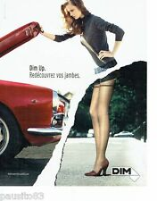PUBLICITE ADVERTISING 116  2006  les bas & Collants Dim Up 2