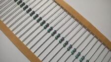 ZS62 Lot 100 pcs SEI RNM Series Metal Film Resistor 402K Ohm 1% 1/2W Axial