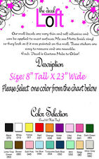 ALL BECAUSE TWO PEOPLE FELL IN LOVE VINYL LETTERING WALL QUOTE  VINYL WALL WORD