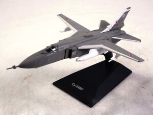 Su-24MP Sukhoi Fencer Supersonic Aircraft 1974 Year 1/170 Scale Model with Stand