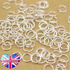 10 Sterling Silver Jump Rings 7mm