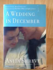 A Wedding in December by Anita Shreve (2006, Paperback)