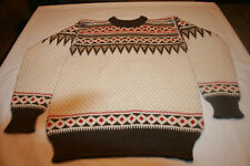 VTG Dale of Norway  Wool ski Sweater sz 50 European Pullover Winter Unisex