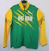 Puma Kicker Track Jacket Sz XL BRAZIL Soccer Pele 1958 jersey sweat shirt Zip Up
