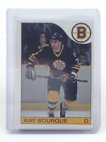 1985-86 Ray Bourque #40 Boston Bruins OPC O-Pee-Chee Ice Hockey Card H547