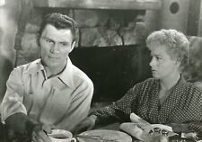 "JACK PALANCE SHELLEY WINTERS ""LA PEUR AU VENTRE"" STUART HEISLER PHOTO CM"