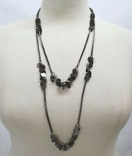 ZX50 FESTIVAL STYLE,GUNMETAL CHAIN/&RED BEAD ladies Belly chain belt 20-36 inch