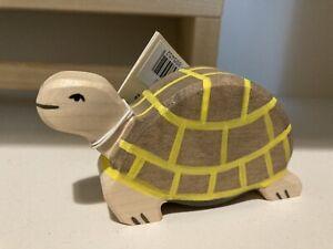 Holztiger Grey Tortoise Turtle Bnwt wooden toy Waldorf montessori