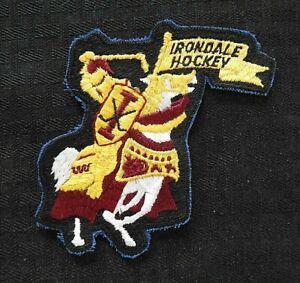 "c1974 ""IRONDALE KNIGHTS HOCKEY"" ST. ANTHONY HIGH SCHOOL NEW BRIGHTON MN PATCH"
