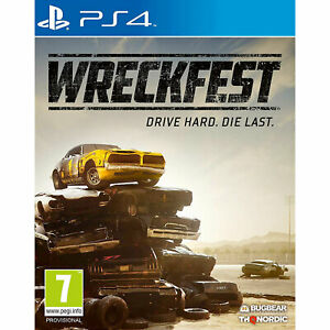 Wreckfest PS4 PLAYSTATION New and Sealed
