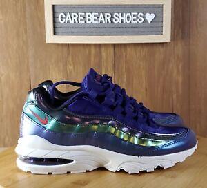 Nike Air Max 95 SE (GS) Court Purple Shoes, Size 6Y/ Women's 7.5 AJ1899-500