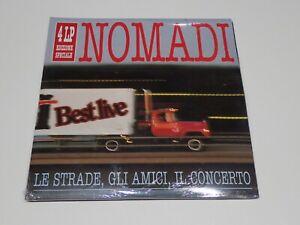DISCO 33 GIRI 4 LP NOMADI LE STRADE GLI AMICI IL CONCERTO  SIGILLATO