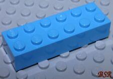Dachstein in blau 3040 & unbespielt SK70 20 Stück blaue Dach Steine 1x2