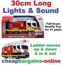 NEW TOY FIRE TRUCK FIRE ENGINE LIGHTS AND SOUNDS EXTENDABLE LADDER Kids Play Toy