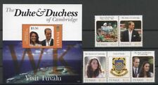 Kate, William, Royals-Tuvalu - ** mnh 2012