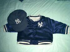 American Girl New York Yankees Jacket & Hat Yankee Stadium Exclusive Used