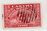 Canada Scott #E6 Θ used vf 20 cent 1935 special delivery stamp