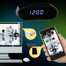 1080P HD IR Wireless WiFi Wecker Hidden Spy Kamera IP Security Motion Cam