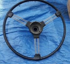 "16.5"" Banjo Steering wheel with 13/16"" spline hot rod Wall art Morris Chevy Ford"