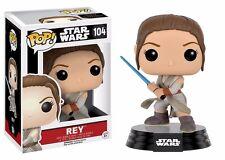 Funko Pop! Star Wars Episode 7 Rey With Lightsaber Vinyl Action Figure