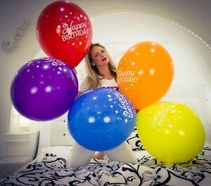 "3 x große TUFTEX 17"" Luftballons HAPPY BIRTHDAY *BALLOONS*"