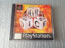 Vintage# Sony Ps Playstation 1 Devil Dice# 1 Stampa Rara# Factory Sealed