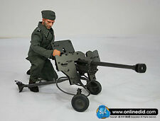 """DID 1/6 Scale 12"""" WWII German Peter Greim with a PzB41 Anti-Tank Rifle D80032"""