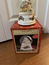 Pfaltzgraff X-mas Heritage Station Musical Snow Globe 247-092-00