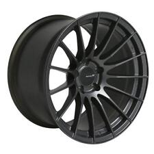 Enkei RS05-RR 18x11 16mm Offset 75mm 5x114.3 Matte Gunmetal Wheel 484-8110-6516
