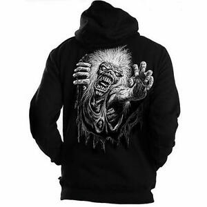 Iron Maiden - No Prayer - Official Men's Black Zipped Hoodie