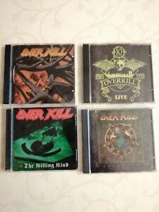 Overkill 4 CD Originali anni '90