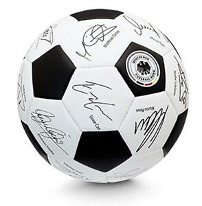 DFB Unterschriftenball weiß 80792 WM Edition 2018 Grösse 5 Turniergröße