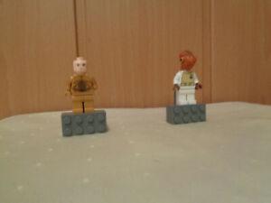 +LEGO STAR WARS  - MAGNETFIGUREN - Admiral Ackbar und  C-3 PD
