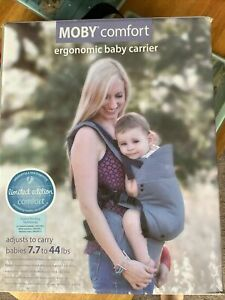 Moby Comfort Baby Carrier - Blue - Newborn to Toddler