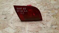 AUDI A3 8P 5 DOOR REAR LEFT PASSENGER SIDE INNER LIGHT 8P4945093B