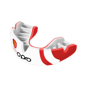 Opro Unisex Power-Fit England Hockey Official Adult Mouth Guard Teeth Rugby