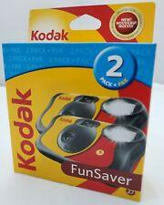 KODAK Fun Saver 2 ok 35mm One Time Use Flash Camera 54 Exposure [Exp. 05/2010]