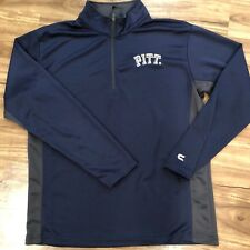 Pittsburgh Panthers Colosseum Athletics Quarter Zip Pullover Size Men's M