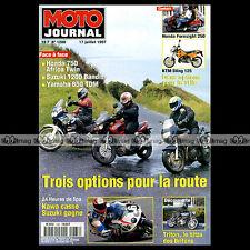 MOTO JOURNAL N°1288 TRITON, YAMAHA TDM 850 ★ 24 HEURES DE LIEGE 1997 ★ KTM STING