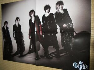 the GazettE PSC Visual-Kei POSTER  JapanLimited! ! SHOXX 2012May